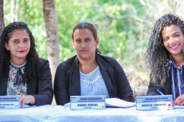 Vereadoras Tequinha, Raquel e Patrícia