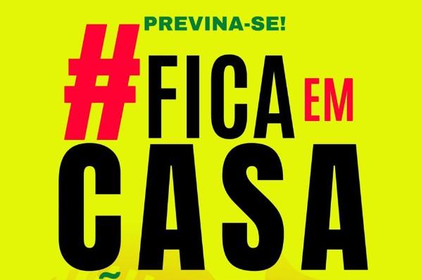 FICA EM CASA