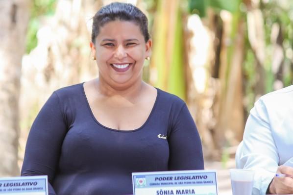 Vereadora Sonia Maria